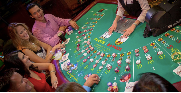 How to cheat in a baccarat game